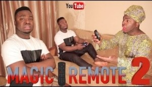Comedy: Samspedy – African Home : Magic Remote (Part 2)